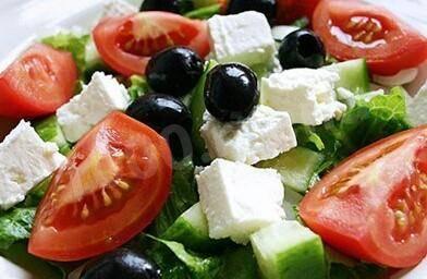 Рецепты вкусных салатов с брынзой