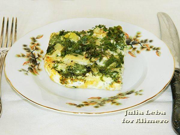 Картофельная запеканка или Куда деть белки от яиц?