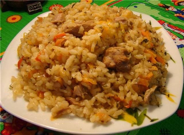 Сытный гарнир: тушеная капуста с рисом
