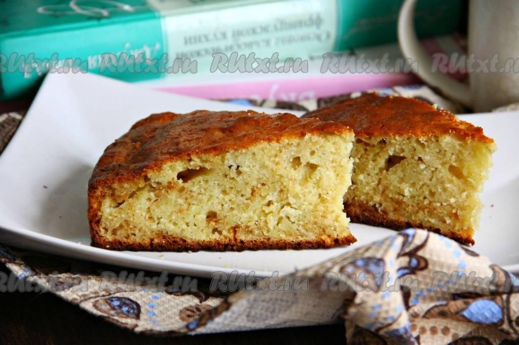 Пошаговый рецепт приготовления пирога на сметане с фото
