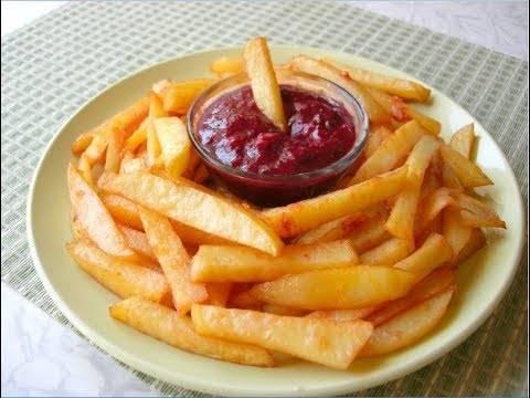 Восхитительный сырно-чесночный соус для картошки фри