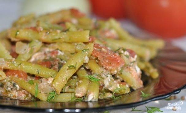 Рецепты приготовления блюд из спаржевой фасоли с фото