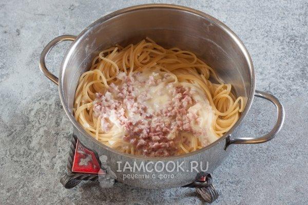 Паста карбонара - рецепты джуренко