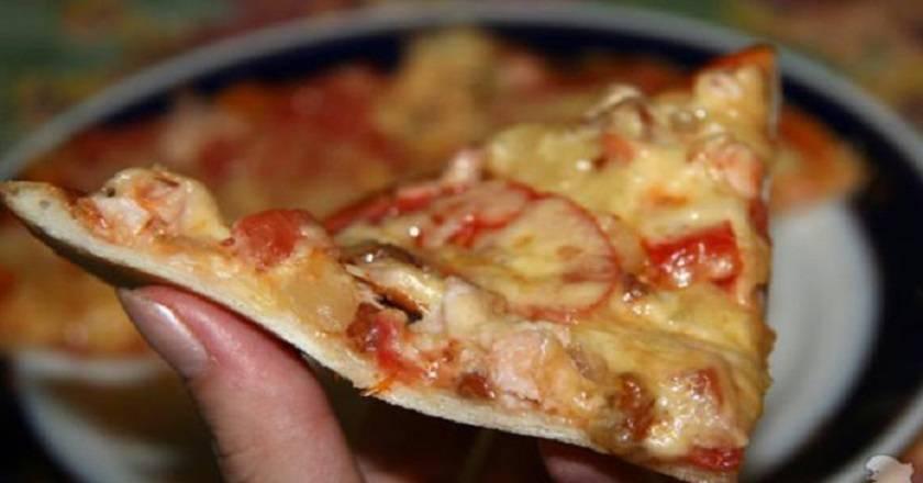 Тесто для очень тонкой пиццы