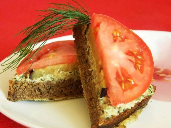 Закрытый бутерброд - рецепты