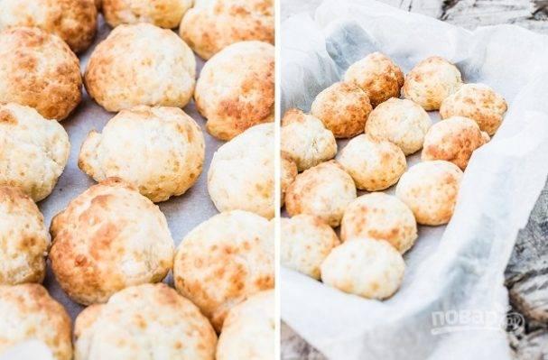 Домашние сырно-чесночные печеньки - отличная альтернатива чипсам