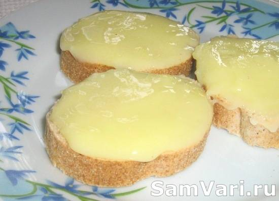 Плавленый сыр в домашних условиях