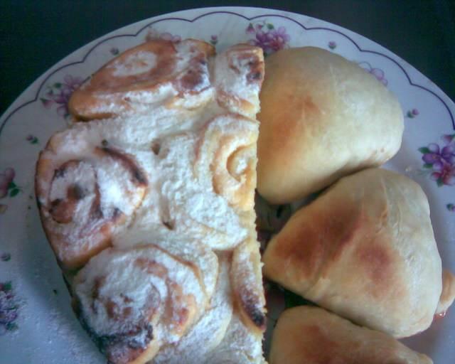 Рецепт булочек с начинкой  с джемом, повидлом, на дрожжевом тесте