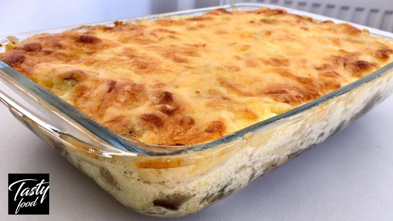 Рецепт картофельной запеканки с курочкой