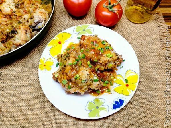 Чахохбили из курицы с вином – вкуснейшее блюдо