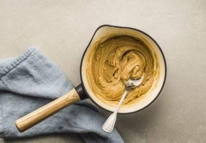 Сливочно-сырный ореховый соус