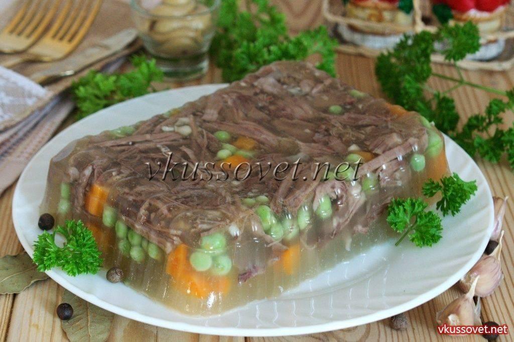 Как приготовить холодец из мяса говядины по пошаговому рецепту с фото