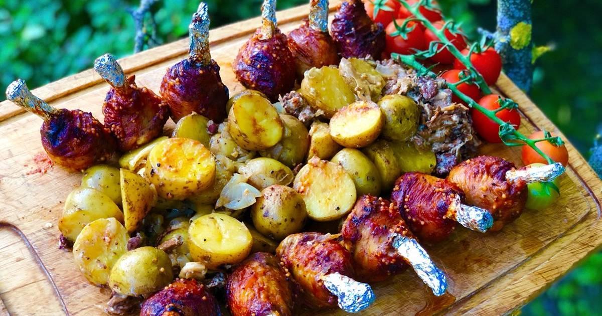 Куриные чупа-чупсы на хэллуин – рецепт пошаговый с фото
