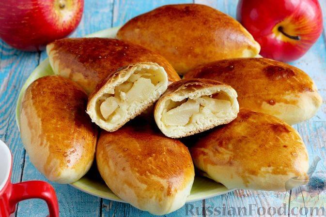 Быстрые пирожки с яблоками