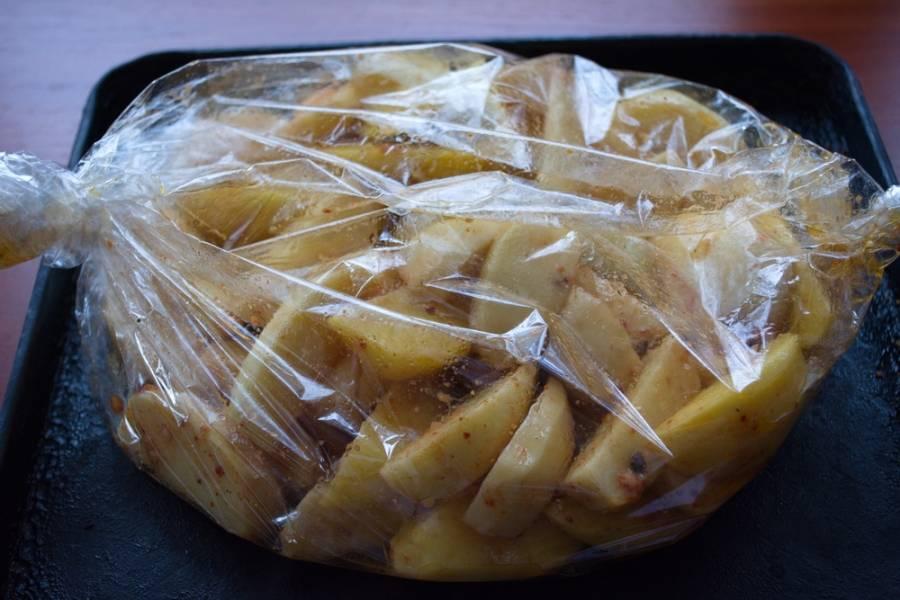 Жареная картошка в микроволновке: рецепт с фото пошагово
