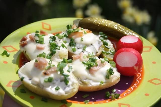 Как приготовить картошку в микроволновке: быстрые способы