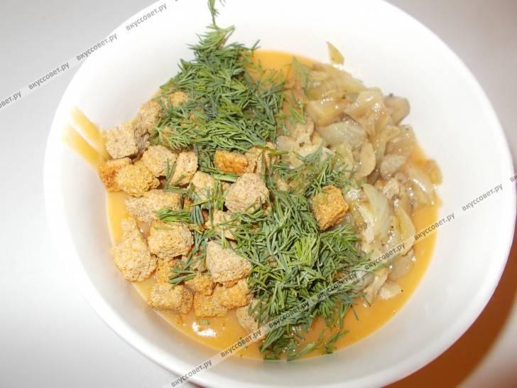 Давайте приготовим куриный суп с лапшой и сельдереем