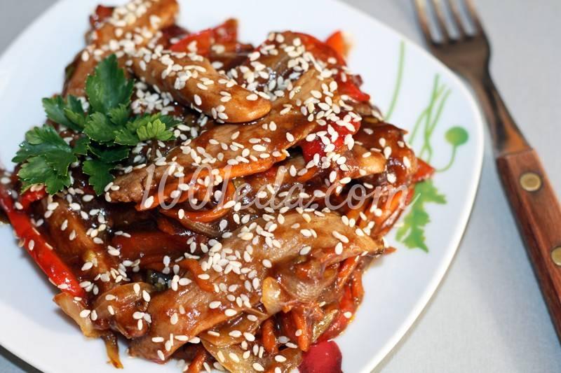 Курица в кисло сладком соусе по-китайски