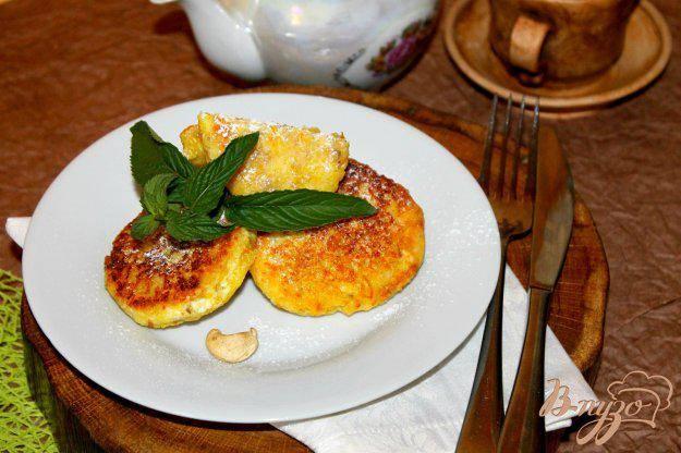 Рецепт сырник апельсиновый