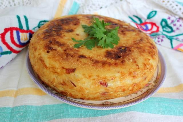 Картофельная бабка в духовке. пошаговый рецепт с фото