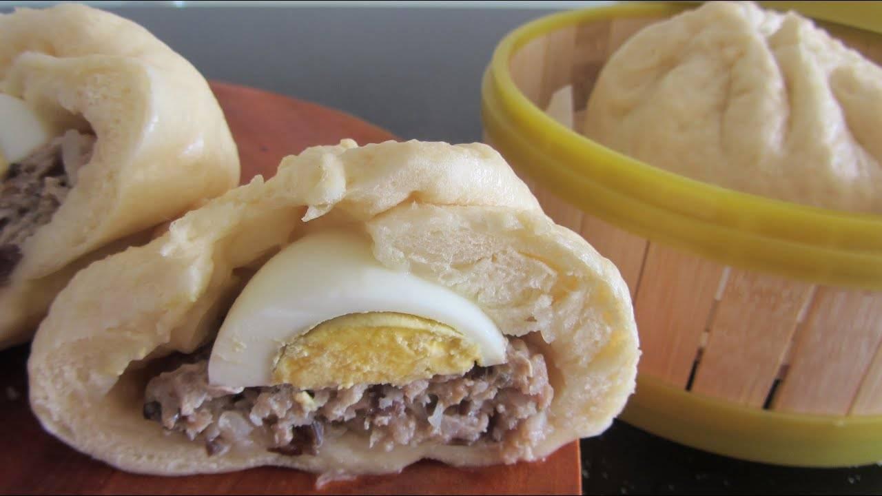 Китайские булочки на пару: пошаговый рецепт приготовления с фото, секреты приготовления, варианты начинки