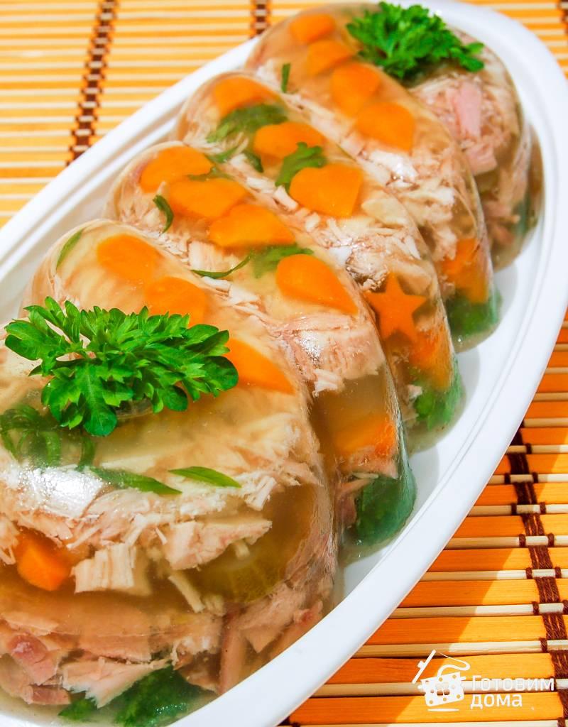 Холодец из курицы: лучшие рецепты приготовления домашнего холодца