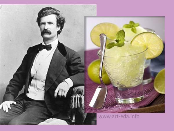 Арбузный лед с фруктами