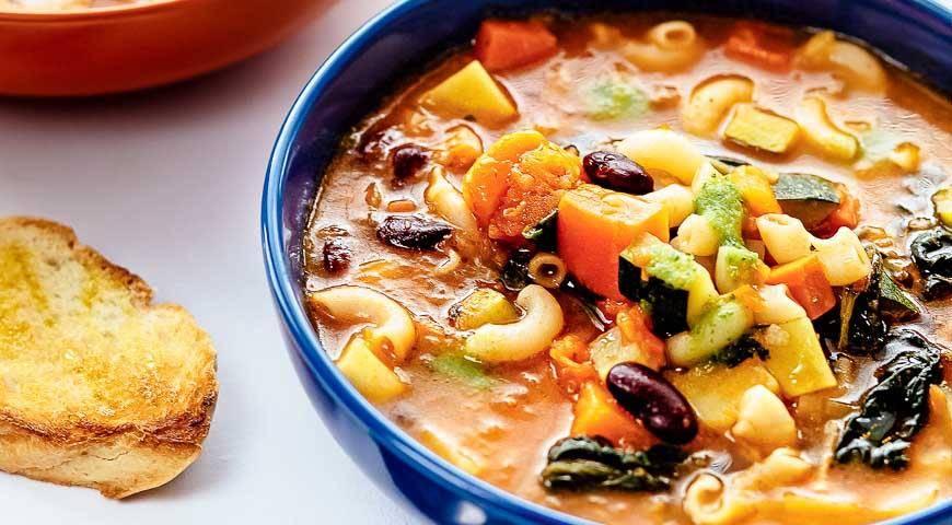 Минестроне. рецепт классический, как приготовить суп пошагово с фото