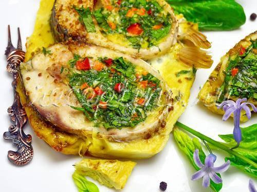Пеленгас, приготовленный на мангале