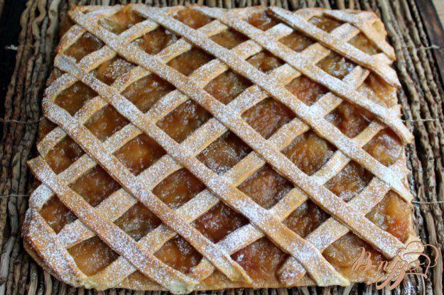 Пирог из яблочного джема