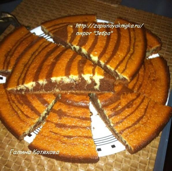 Пирог со сметаной