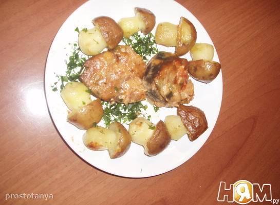 Картофельные лепешечки с грибами - 8 пошаговых фото в рецепте