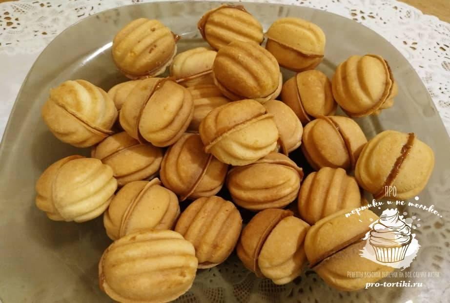 Ищу рецепт мягких орешков со сгущенкой