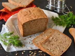 Проверенный рецепт хлеба на закваске с семенами льна: злаковый в духовке