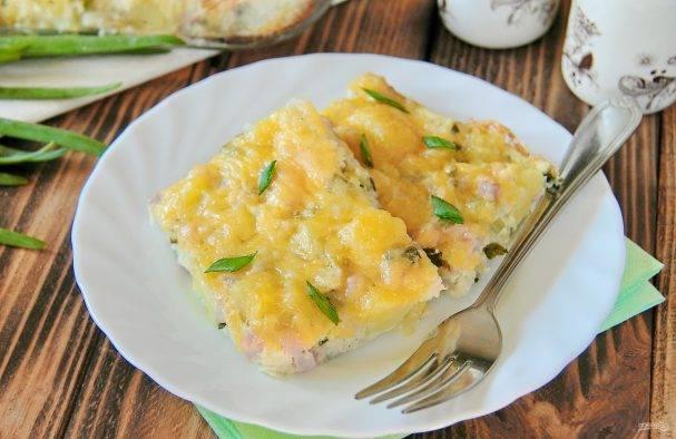 Простой рецепт сырной запеканки с брюссельской капустой