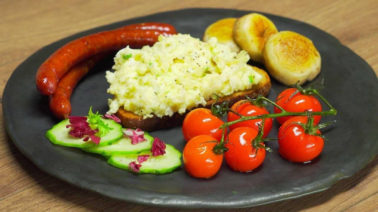 Яйца-скрэмбл — отличное решение для завтрака