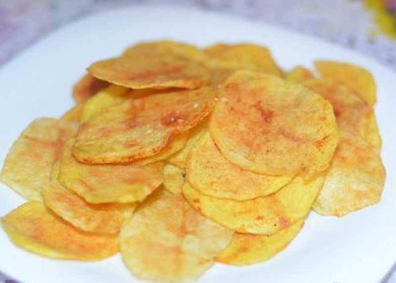 Чипсы в микроволновке: картофельные, сырные и даже фруктовые