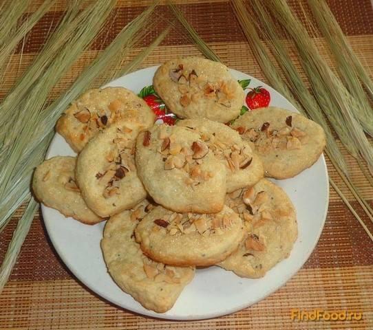 Печенье из арахиса