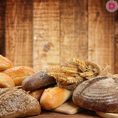 Ржаной хлеб с отрубями в духовке