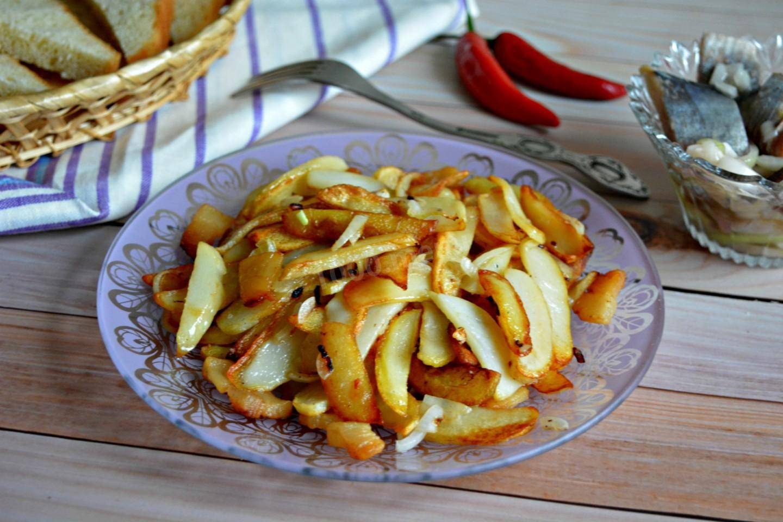 Жарим картошку по старым рецептам