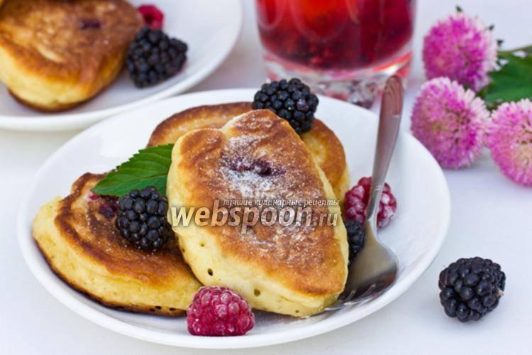 Пышные оладьи на кефире - рецепт с фотографиями - patee. рецепты