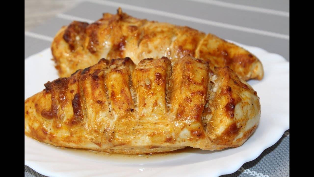 Куриная грудка запеченная в фольге в духовке