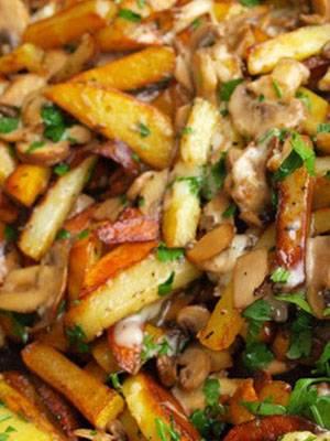 Картошка со свининой