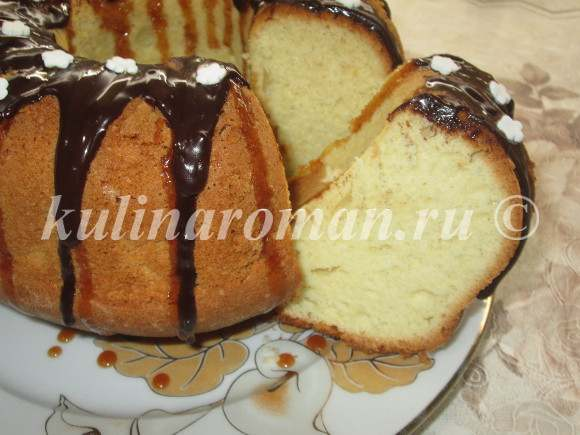 Сухарный кекс