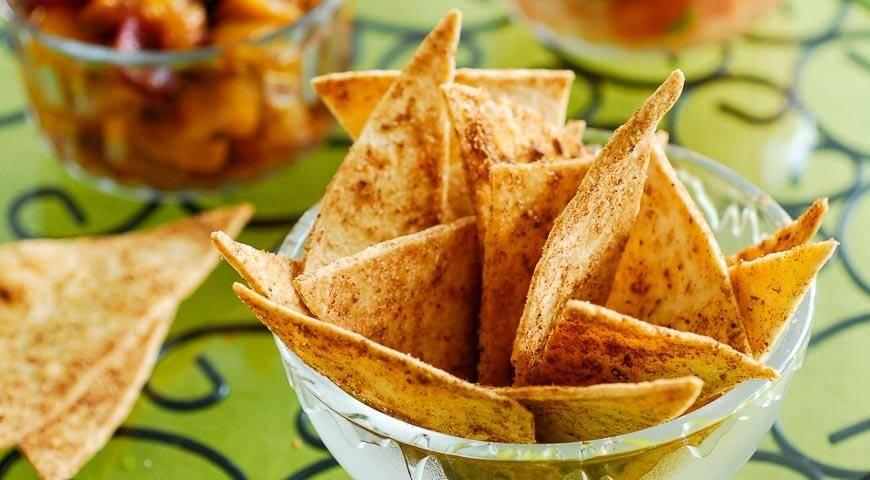 Пошаговый рецепт приготовления чипсов из лаваша