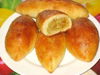 Пирожки с картошкой из дрожжевого теста в духовке