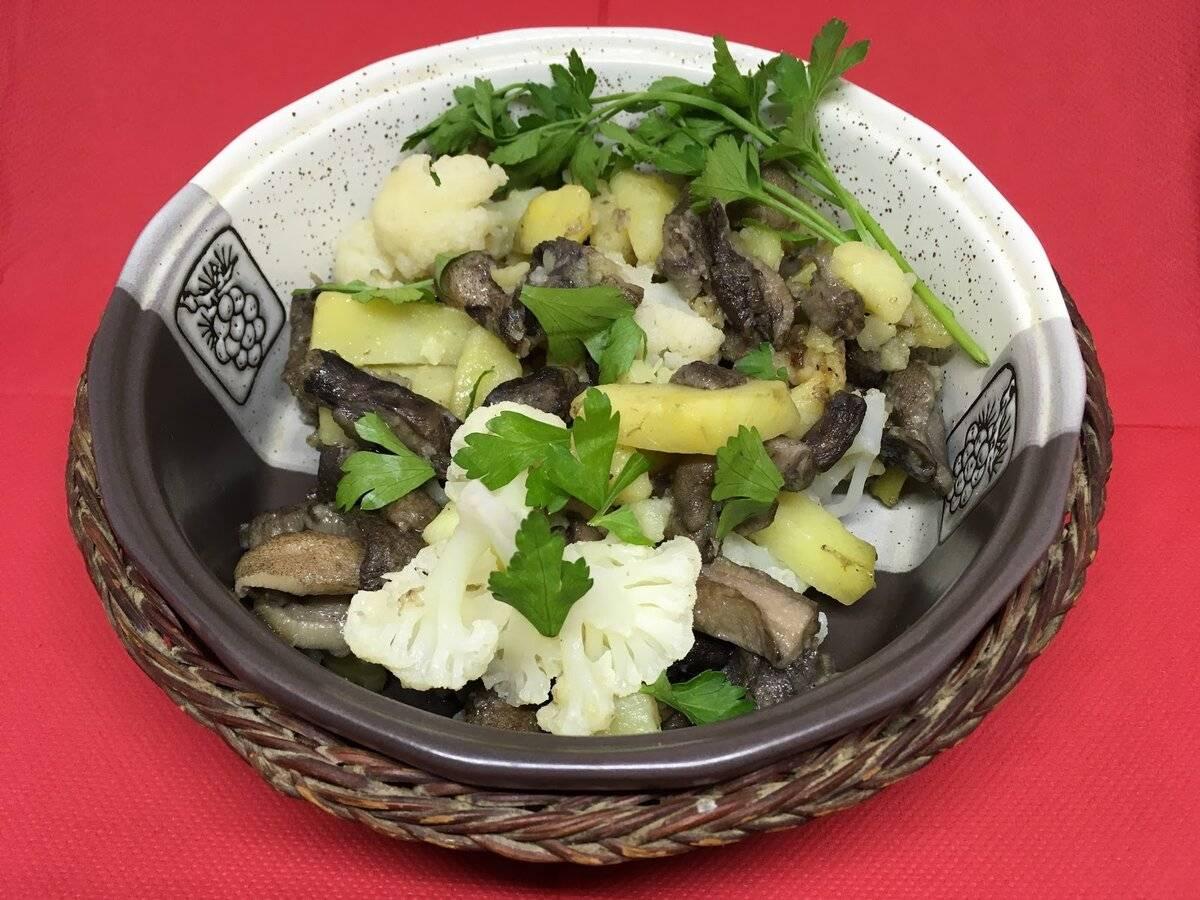 Картофель с маслятами в сметане - рецепт с фотографиями - patee. рецепты