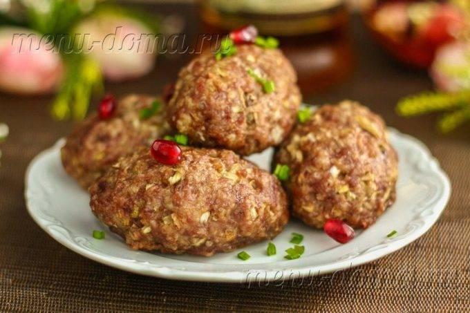 Котлеты из говядины — 6 рецептов приготовления сочных котлет