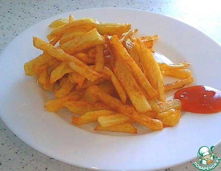 Как сделать (приготовить) картофель фри в домашних условиях