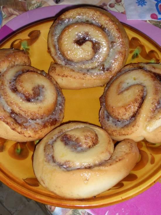 Рецепты булочки с корицей и изюмом
